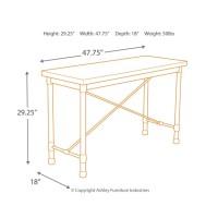 Minnona - Metallic Gray - Sofa Table