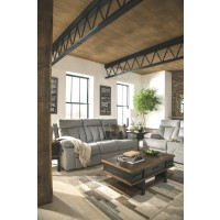 Cool Mitchiner Fog Reclining Sofa W Drop Down Table Bralicious Painted Fabric Chair Ideas Braliciousco
