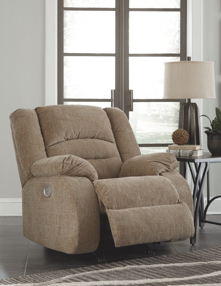 Labarre - Mocha - PWR Recliner/ADJ Headrest