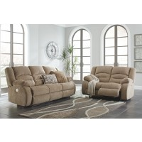 Labarre - Mocha - PWR REC Sofa with ADJ Headrest