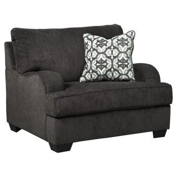 Charenton - Charcoal - Chair and a Half