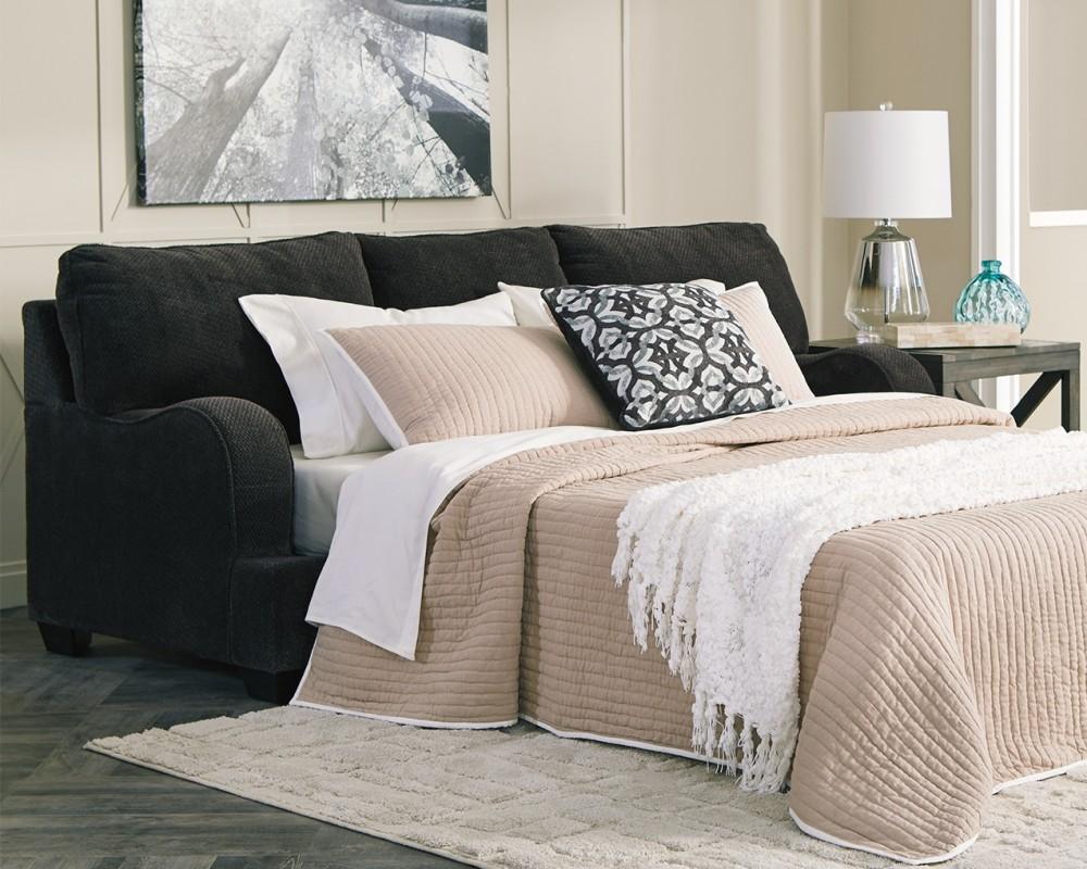 Charenton - Charcoal - Queen Sofa Sleeper