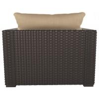 Spring Ridge - Beige/Brown - Lounge Chair w/Cushion (1/CN)