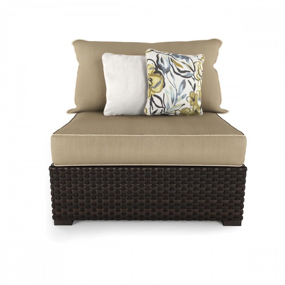Charmant Spring Ridge   Beige/Brown   Armless Chair W/Cushion (2/CN