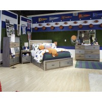 McKeeth - Gray - Under Bed Storage
