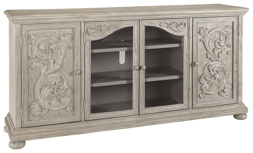 Marleny - Gray - Extra Large TV Stand
