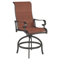 Apple Town - Burnt Orange - Sling Barstool (2/CN)