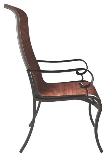 Sensational Apple Town Burnt Orange Sling Chair 2 Cn Download Free Architecture Designs Momecebritishbridgeorg