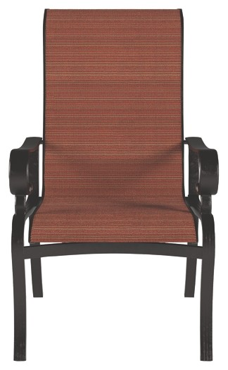 Apple Town   Burnt Orange   Sling Chair (2/CN)