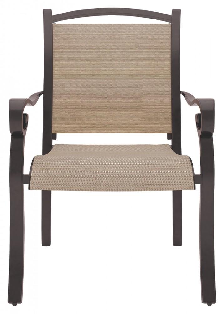 Bass Lake - Beige/Brown - Sling Chair (4/CN)