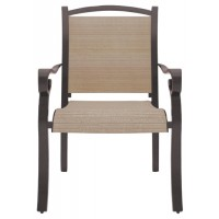Bass Lake - Beige/Brown - Sling Chair (4/CN)