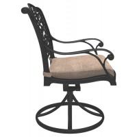 Rose View - Brown - Swivel Chair w/Cushion (2/CN)