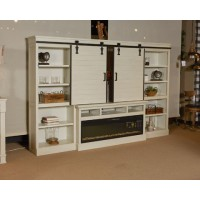 Blinton - White - TV Stand