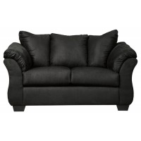 Darcy - Black - Loveseat