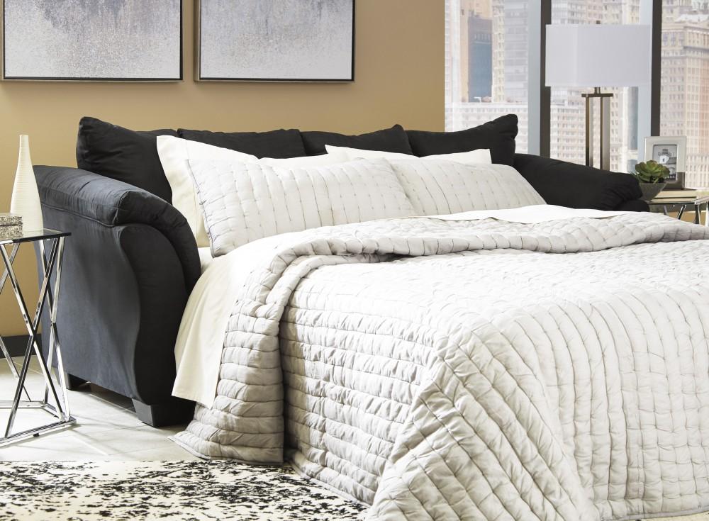 Darcy - Black - Full Sofa Sleeper