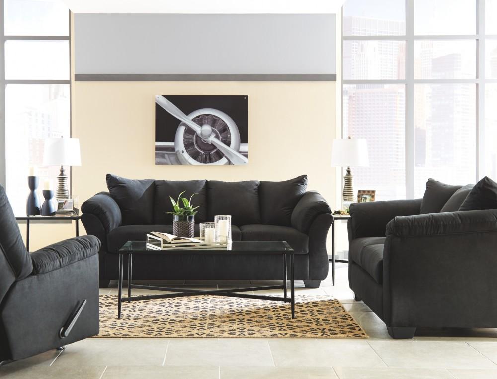Darcy - Black - Sofa