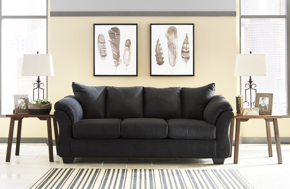 Darcy - Black - Sofa