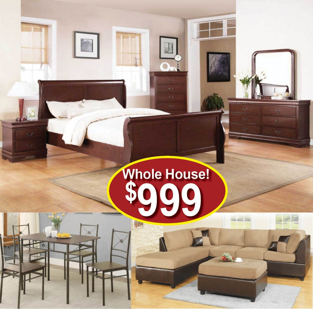 Furniture Store Cheap Prices: Baltimore Furniture Package #22