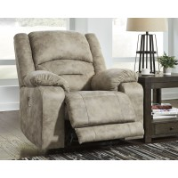 McGinty - Graystone - PWR Recliner/ADJ Headrest