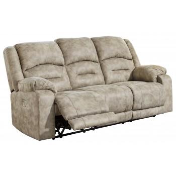 McGinty - Graystone - PWR REC Sofa with ADJ Headrest