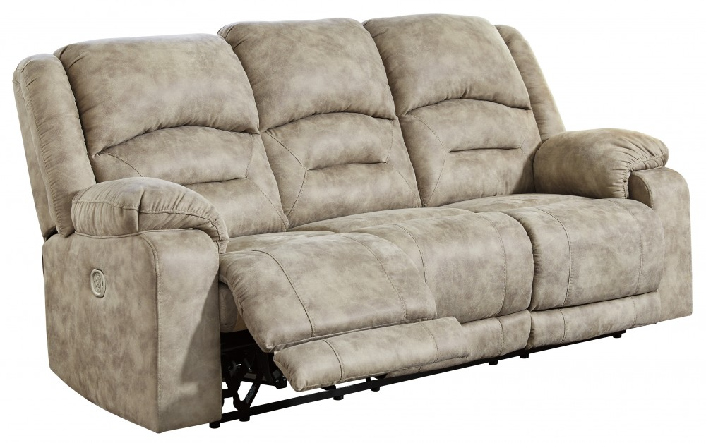 Mcginty Graystone Pwr Rec Sofa With Adj Headrest 5410115