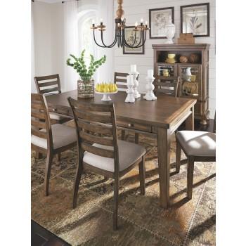 Flynnter - Medium Brown - Rectangular Dining Room Table