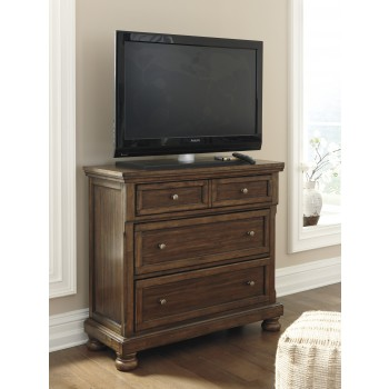 Flynnter - Medium Brown - Media Chest