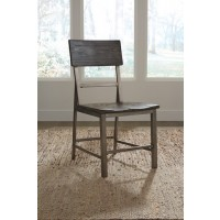 Raventown - Grayish Brown - Dining Room Side Chair (2/CN)