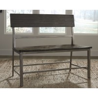 Raventown - Grayish Brown - Double Dining Chair (1/CN)