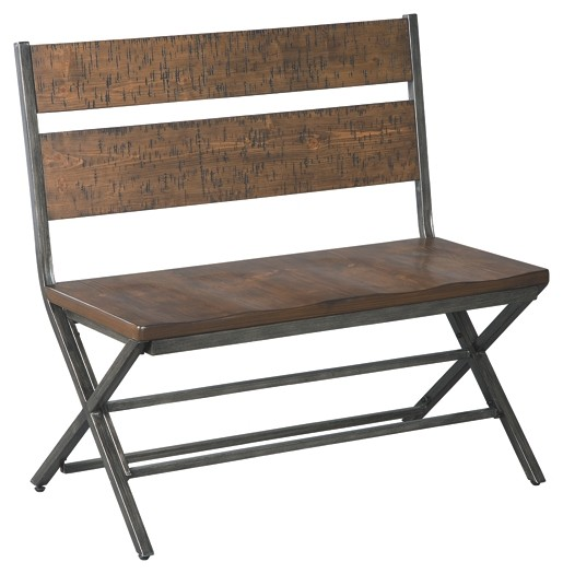 Kavara - Medium Brown - Double Dining Chair (1/CN)