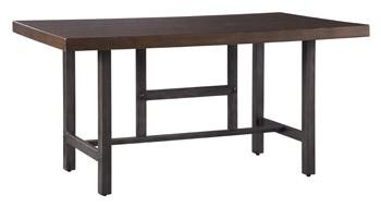 Kavara - Medium Brown - Rectangular Dining Room Table