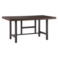 Kavara - Medium Brown - Rectangular Dining Room Table