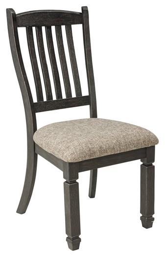 Tyler Creek Black Gray Dining Uph Side Chair 2 Cn D736 01