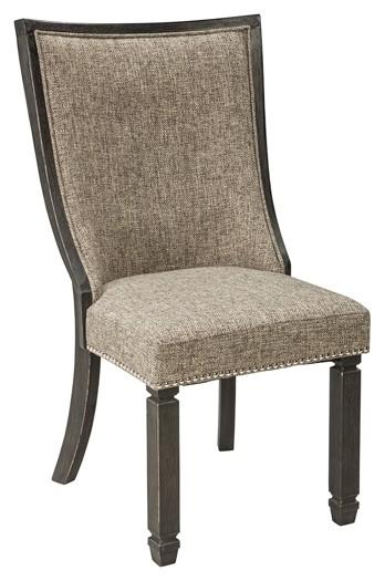 Tyler Creek - Black/Gray - Dining UPH Side Chair (2/CN)
