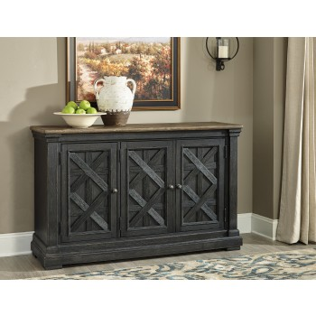 Tyler Creek - Black/Gray - Dining Room Server