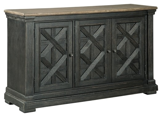 Merveilleux Tyler Creek   Black/Gray   Dining Room Server