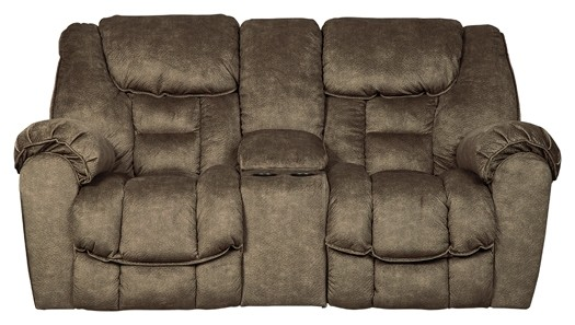 Amazing Capehorn Earth Dbl Rec Loveseat W Console Caraccident5 Cool Chair Designs And Ideas Caraccident5Info