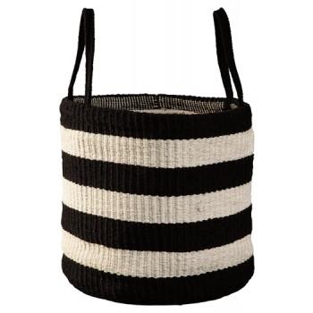 Edgerton - Black/White - Basket (Set of 2)