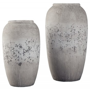 Dimitra - Brown/Cream - Vase Set (2/CN)