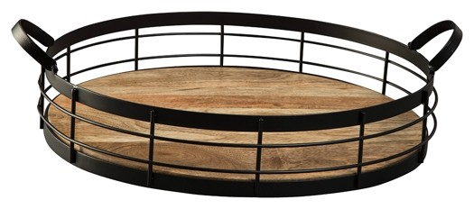 Diantha - Black/Natural - Tray