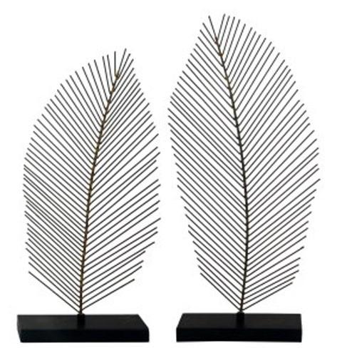 Eleutheria - Gray/Black - Sculpture (Set of 2)