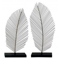 Eleutheria - Gray/Black - Sculpture (Set of 2)