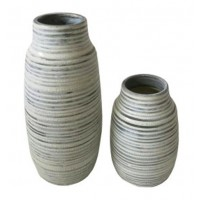 Donaver - Gray/White - Vase Set (2/CN)