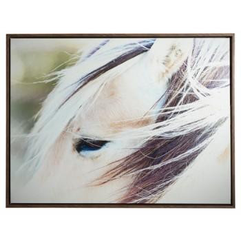 Embla - Brown/White - Wall Art