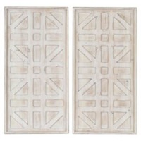 Dubem - Antique White - Wall Decor Set (2/CN)