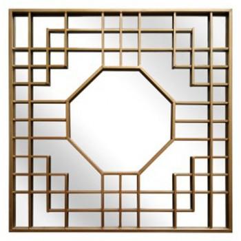 Cristobal - Gold Finish - Accent Mirror