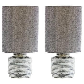 Marcario - Antique White - Terracotta Table Lamp (2/CN)