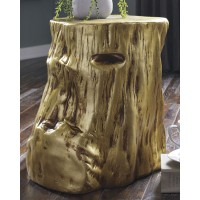Majaci - Gold - Accent Table