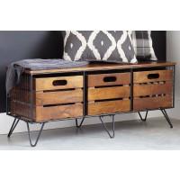 Forestmin - Medium Brown - Storage Cabinet