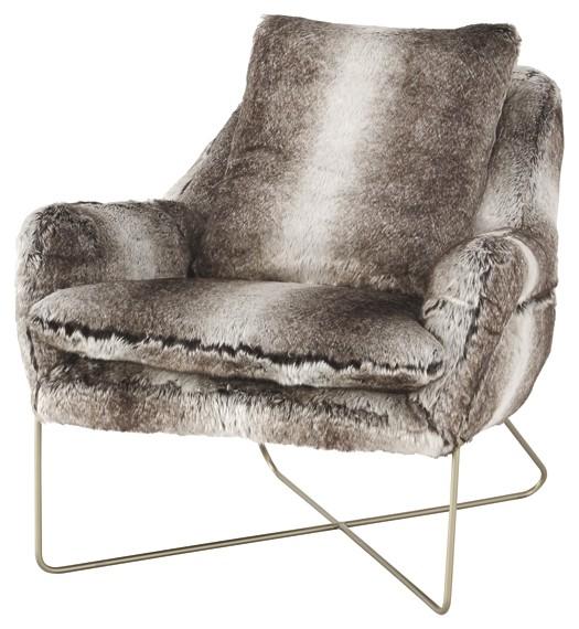 Wildau Gray Accent Chair A3000054 Chairs Max Fine Furniture